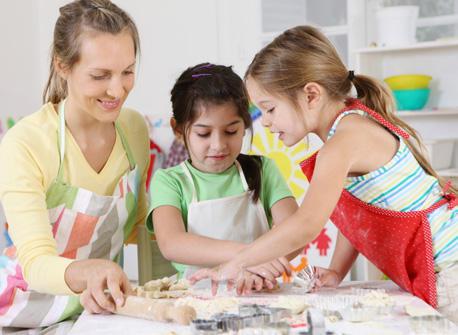 Cuisiner Avec Vos Enfants Nourrissant Savoureux Amusant