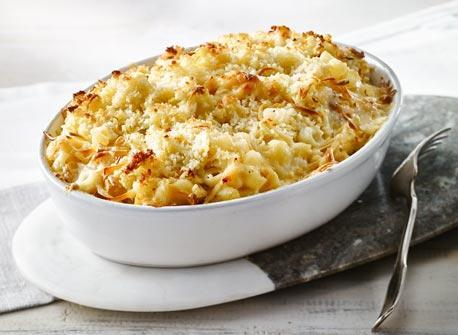 Macaroni au fromage aux pommes et à la bière Recette