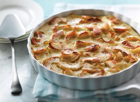 Clafoutis aux pommes Recette