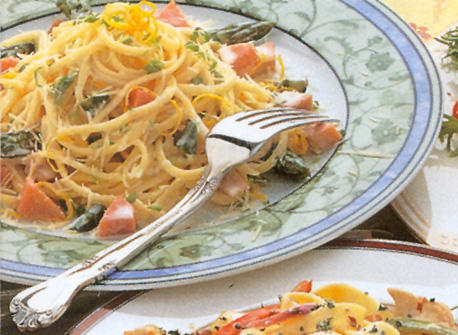 Recipes ham linguini