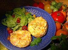 Bagels aux oeufs gratinés recipe