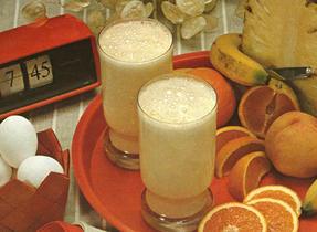 Déjeuner aux bananes des champions, Tornade aux fraises, Dynamo au pamplemousse et à l'ananas, Déjeuner réveille-matin
