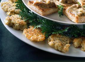 87 personne(s) ont aimé Croustillants au fromage Bleu et aux graines ...