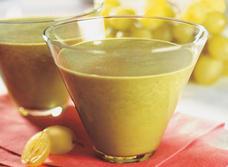 Potage froid aux couleurs éclatantes recipe