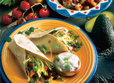 burritos aux haricots saut s recette plaisirs laitiers. Black Bedroom Furniture Sets. Home Design Ideas