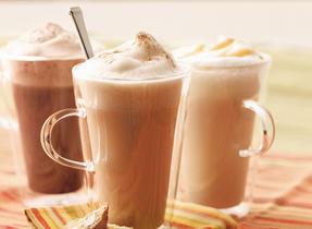 Café au lait à la cannelle