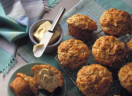 Muffins au fromage et aux pommes Recette