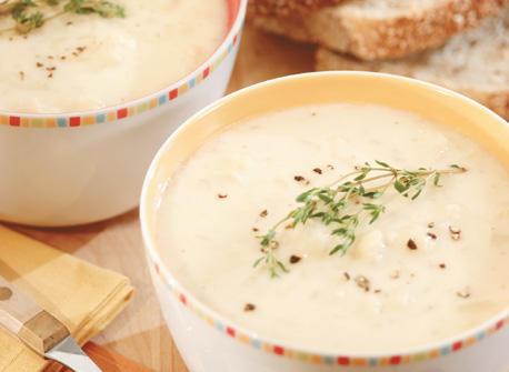 Soupe Au Cheddar Et Au Chou Fleur Recette Plaisirs Laitiers