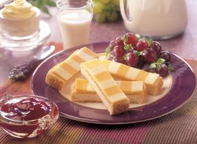 Bâtonnets de pain grillé au fromage