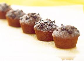 Petits gâteaux choco-bananes