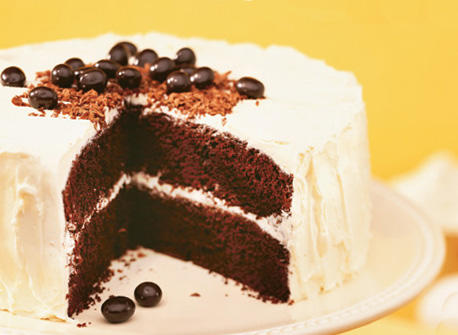 Chocolate Cake With Chocolate Coffee Icing