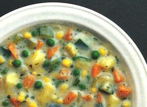 Chaudrée consistante aux légumes
