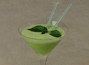 Cocktails rafraîchissants : Sauterelle