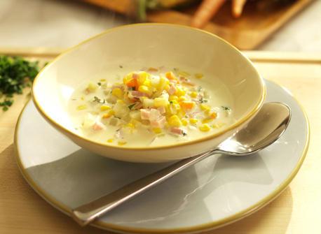 Soupe au maïs Recette