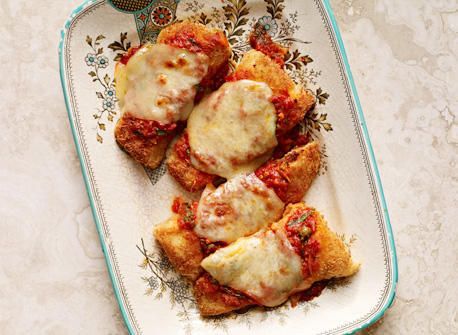 Poisson croustillant au Parmesan  Recette