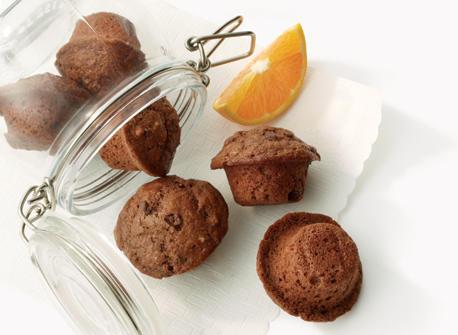 Muffins Miniatures A L Orange Et Au Chocolat Noir Recette Plaisirs