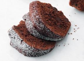 Quatre-quarts au chocolat noir