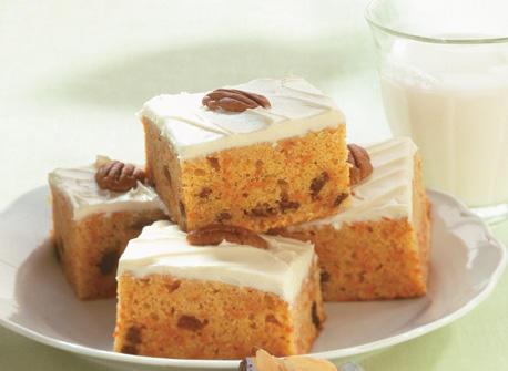 Gâteau aux carottes décadent Recette