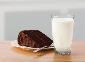 Gâteau au chocolat foncé
