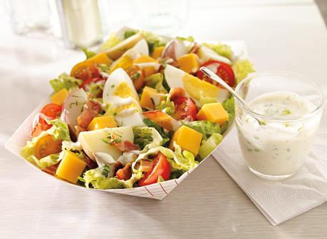 La salade de pommes de terre au Cheddar que tout le monde aime Recette