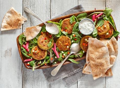 Salade de falafels  Recette