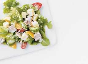 Salade de thon antipasto fraîche et légère