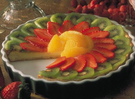 tarte aux fruits recette plaisirs laitiers. Black Bedroom Furniture Sets. Home Design Ideas