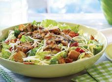 Salade César au poulet et au Gouda recipe