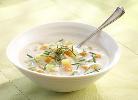 Soupe aux légumes racines  Recette