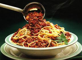 Sauce à spaghetti consistante