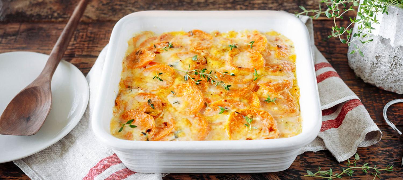 Gratin consistant aux patates douces recette | Plaisirs ...