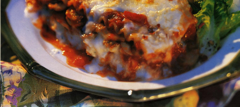 Lasagne aux champignons recette | Plaisirs laitiers