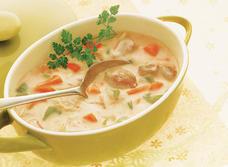 Soupe maison à la dinde et au riz recipe