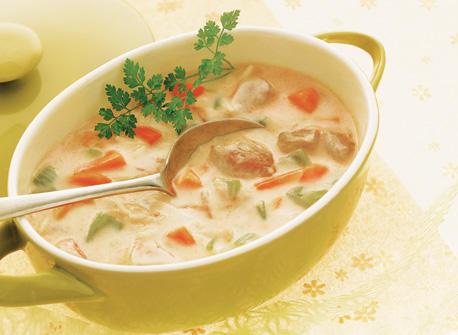 Soupe maison à la dinde et au riz Recette