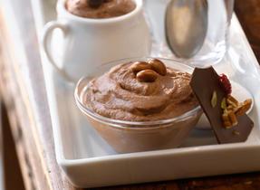 Mousse à l'irlandaise au chocolat noir