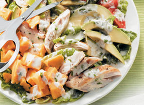 Salade Cobb fraîche et légère