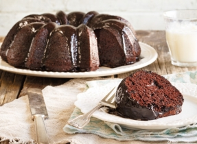 Gâteau Bundt maya au chocolat