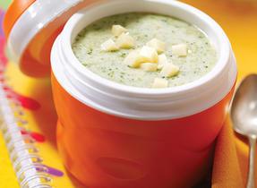 Crème de brocoli et Cheddar
