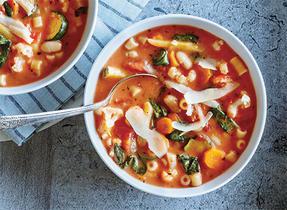 Soupe minestrone facile à réaliser