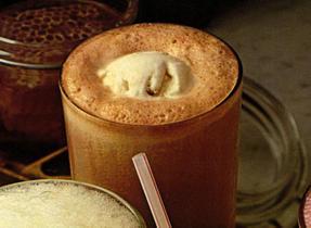 Flotteur au café moka