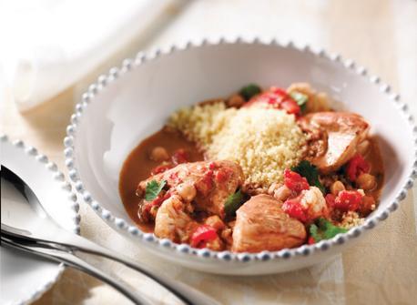 Souper marocain au poulet Recette