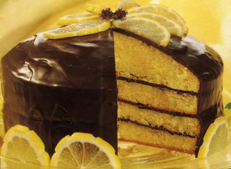 G teau tag au citron pour le nouvel an recette plaisirs laitiers - Gateau pour reveillon nouvel an ...