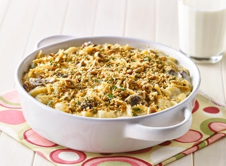Macaroni au fromage réconfortant avec une touche de noisettes Recette