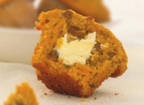 Muffins à l'avoine et aux carottes