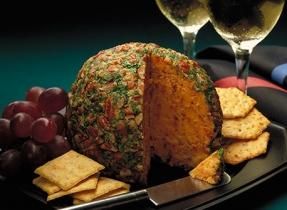 Boule au fromage célébration