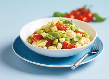 Salade de pâtes et d'edamames Recette
