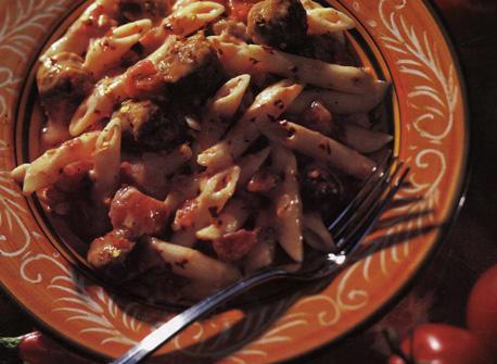 Penne à la saucisse italienne Recette
