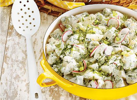 Salade de pommes de terre parfaite Recette