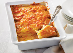 Gratin de pommes de terre au fromage et à la crème