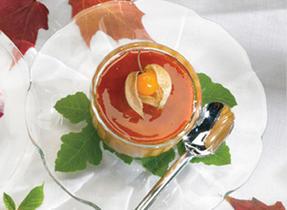 Crème brûlée à la citrouille